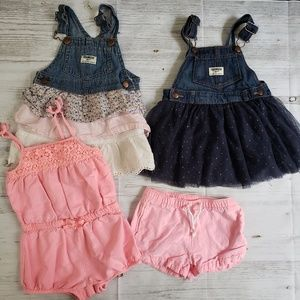 Girl's Oshkosh 24 mos 4 piece lot